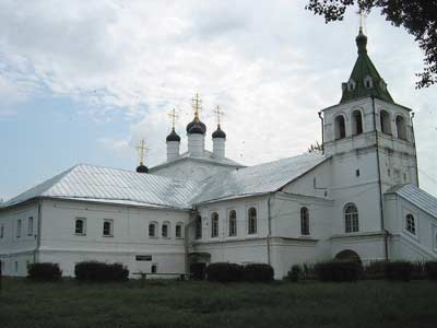 Александровская слобода. Успенская церковь
